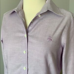 Brooks Brothers 346 Lavender Non-Iron Shirt (4)